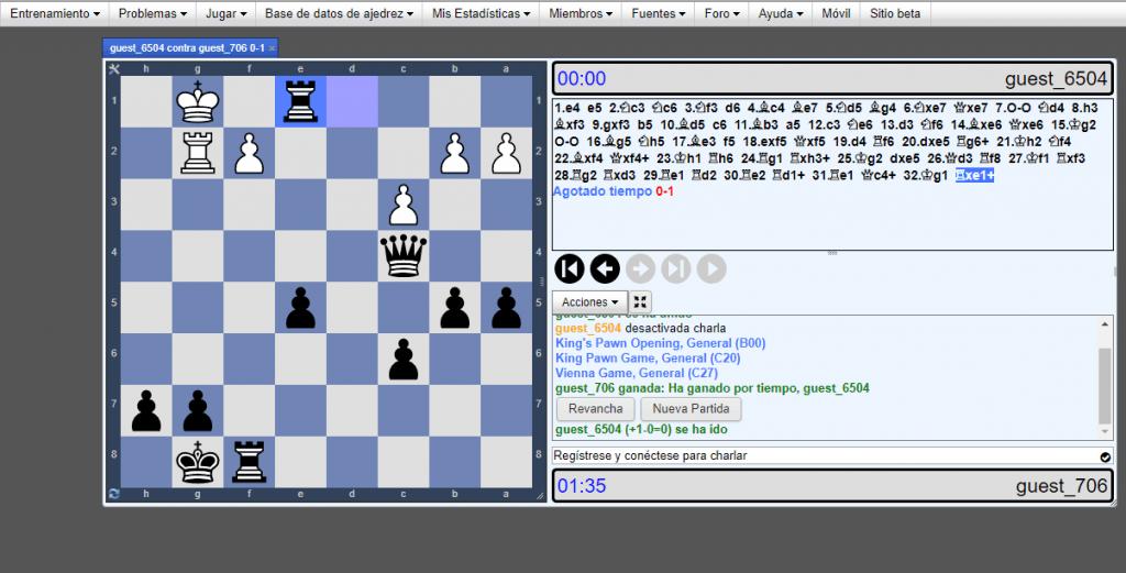 chesstempo.com para jugar ajedrez online gratis sin registrarse