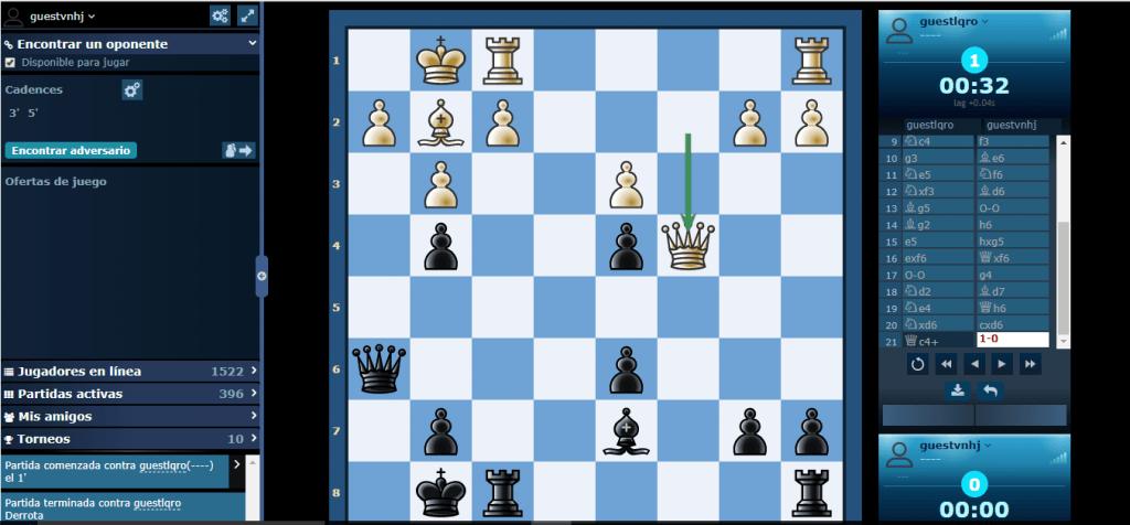 Jugar ajedrez online gratis sin registrarse