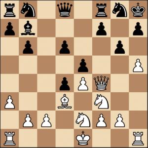 táctica de ajedrez