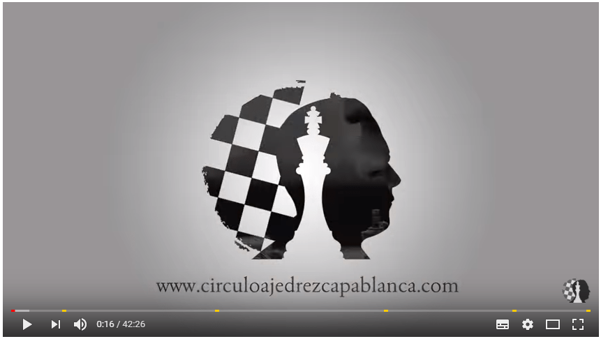 círculo de ajedrez capablanca