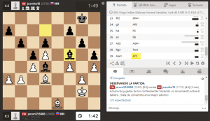 jugar ajedrez online blitz en chess.com