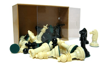 Piezas de ajedrez de plástico de fournier