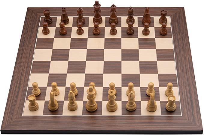 ajedrez profesional de madera