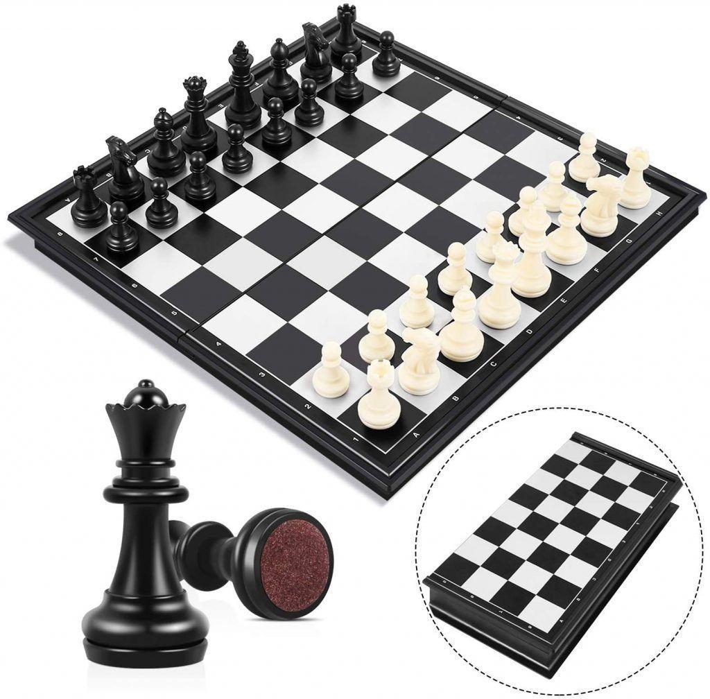 ajedrez magnético para viajes  25x25