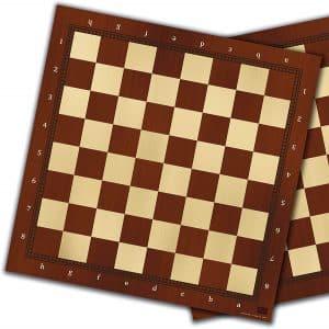tablero ajedrez madera DM