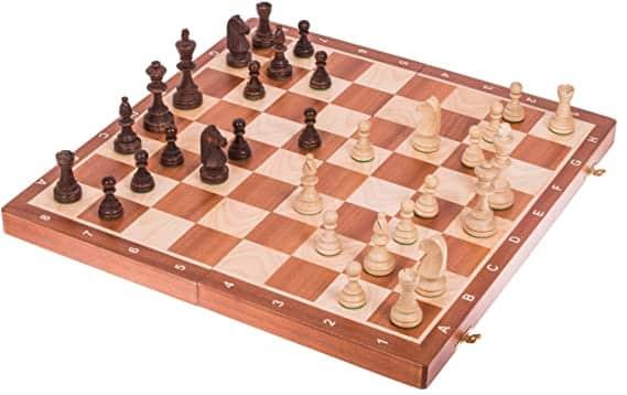 tablero ajedrez staunton 6