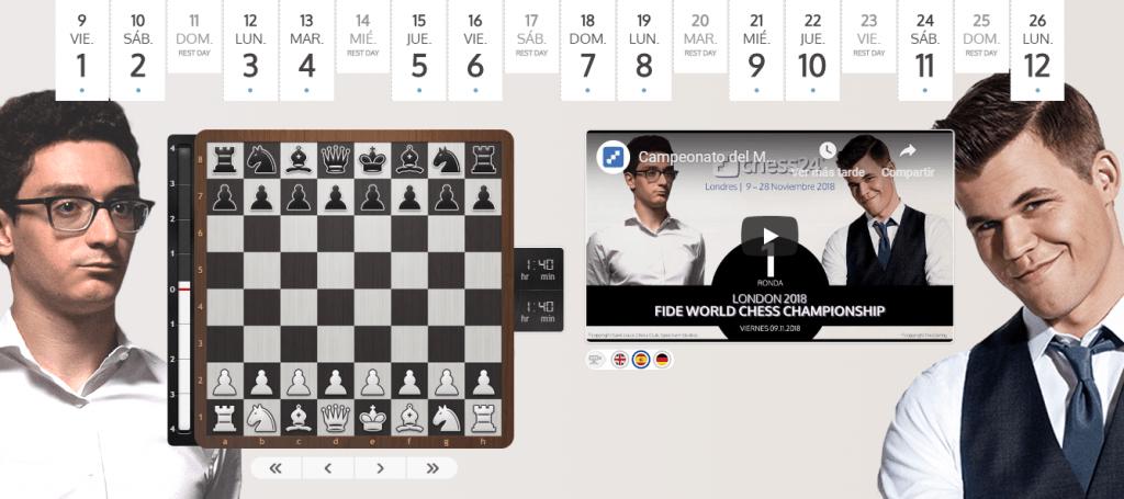 carlsen caruana chess24