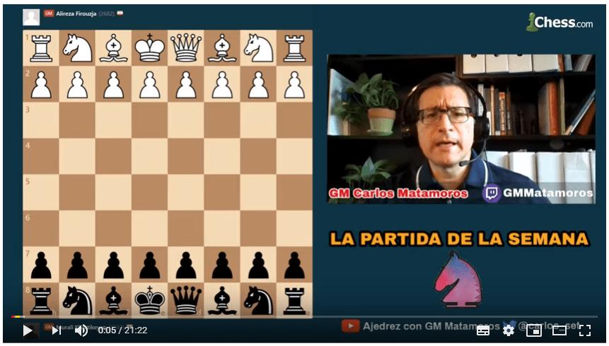 aprendiendo ajedrez gratis con Matamoros