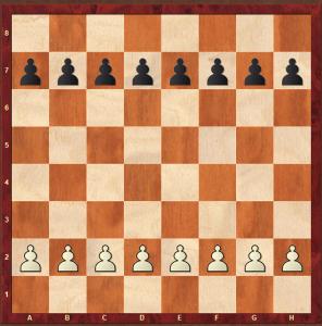 guerra de peones: enseñar ajedrez a niños