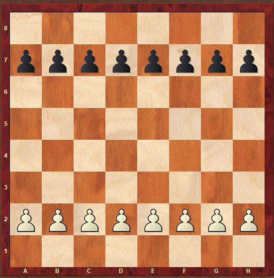juegos de ajedrez para niños: guerra de peones