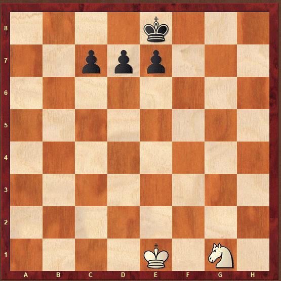 Juegos de ajedrez con pocas piezas