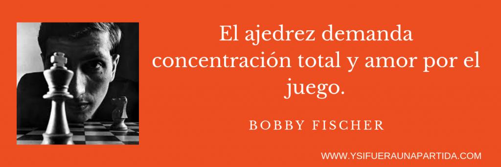 frase bobby fischer