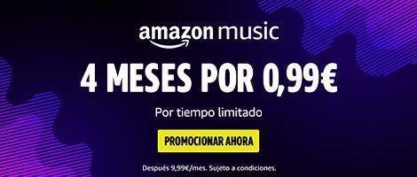 oferta amazon music