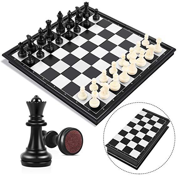 ajedrez plegable magnético