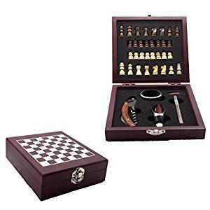vino y ajedrez