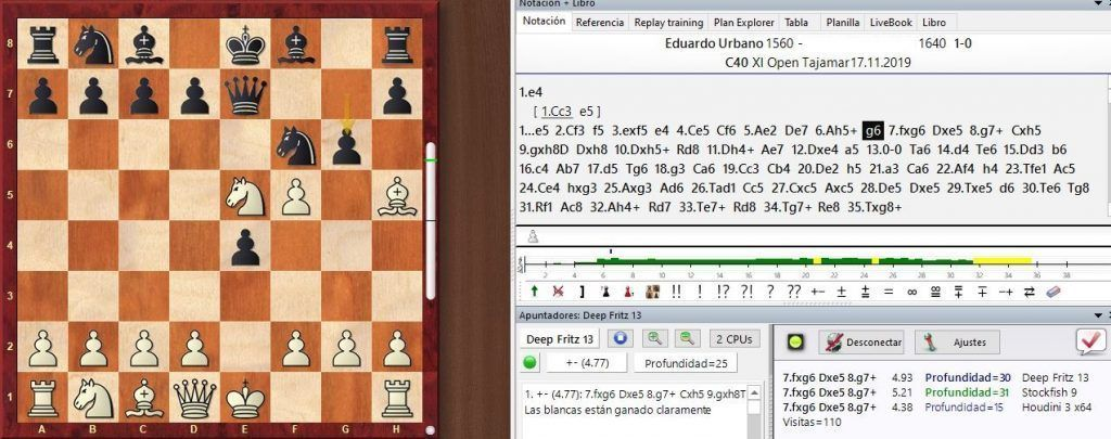 chessbase 15 instant analisis