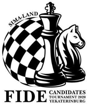 logo torneo de candidatos de ajedrez fide 2020