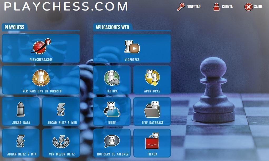 jugar ajedrez en linea en playchess.com