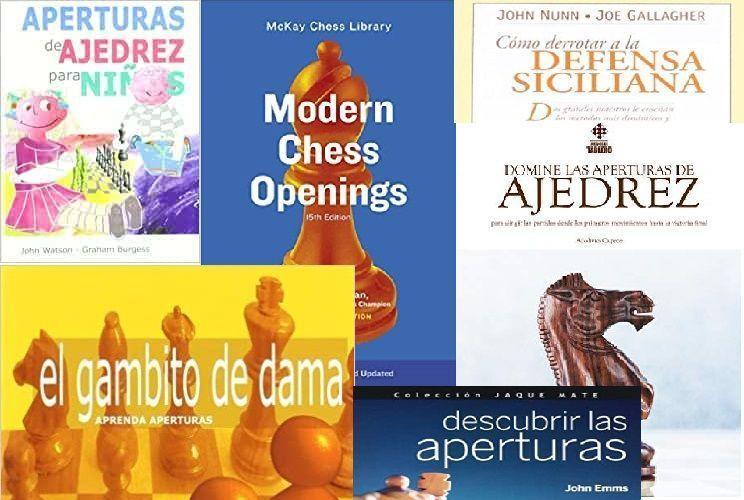 los mejores libros de aperturas de ajedrez