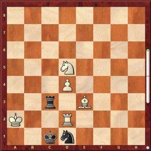 problema de ajedrez