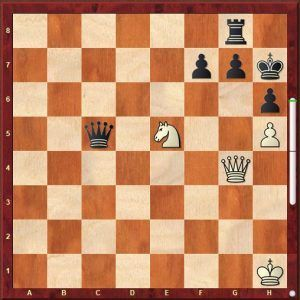 problema de ajedrez en tres