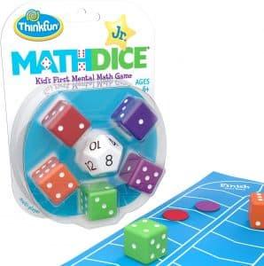 Math dice juego matemático