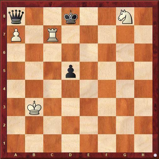 estudio de ajedrez Nadareishvili