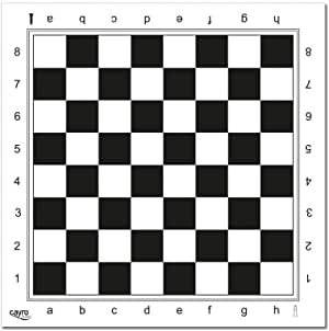 tablero de ajedrez de plástico