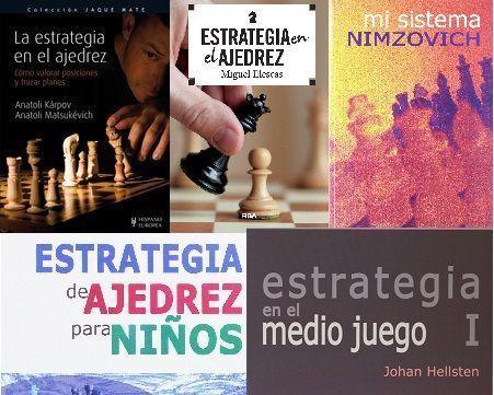Los mejores libros de estrategia en Ajedrez