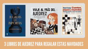libros de ajedrez para navidad