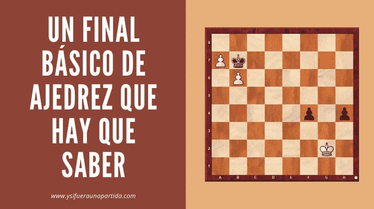 portada un final de ajedrez que hay que saber